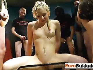 Bukkake Party Euro Sluts Fucking Golden Shower