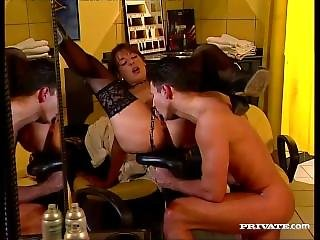 Maria Bellucci Is A Slutty Hairdresser With An Anal Fetish
