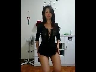 Sexy Dance In Dress
