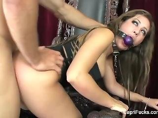 Kinky Brunette Capri Cavanni Gets Some Cock