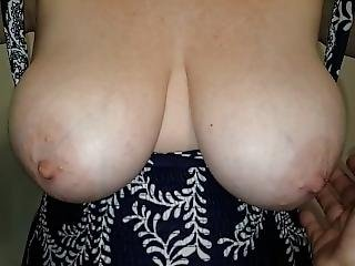Tit Drop And Titty Play In Slow Motion