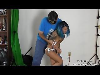 Asia Perez Bikini Challenge