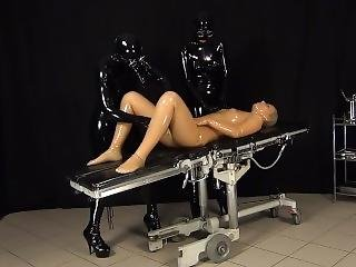 Rubber Doctor And Patient