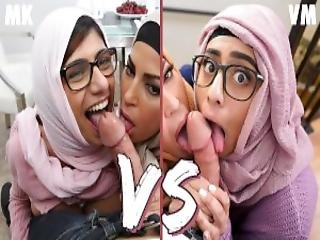 Bangbros Mia Khalifa Vs Violet Myers Epic Showdown Who Was Better You Decide