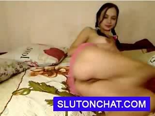 Amateur, Cul, Chaude, Sexe, Webcam