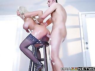 Kenzie Taylor Takes Keiran Lees Huge Cock Up Her Asshole