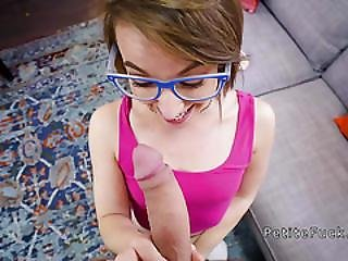 Teen Spinner Bangs Big Cock Pornstar