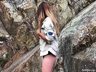 Sexy Teen Sarah - Topless Jacket