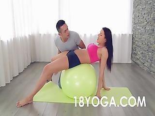 Yoga Teen Kitana Lure Anal Fucked4