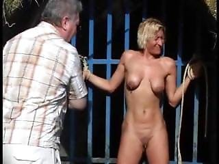 Bdsm, Blonde, Bondage, Fetish, Hardcore, Mature, Milf, Outdoor, Public, Whip, Wife