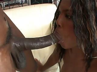 Twisted Threesome With Ebony Babes And A Long Cock