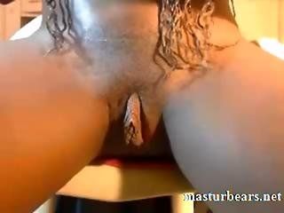 The Huge Clit Of Ebony Amateur Priscilla