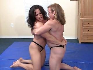 Mature, Milf, Wrestling