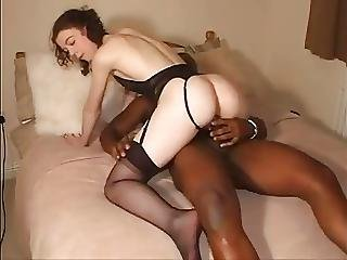Shy White Girl Makes Bbc Cum Twice
