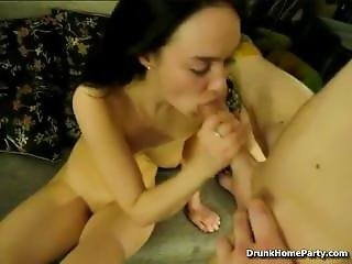 Drunk Gal Banged By Her Boyfriend
