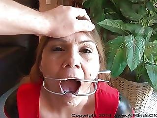 Anal Bubble Butt Mexican Granny Gets Used