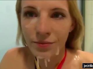 Sperm Walk German Whore On Public Street