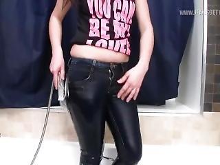 Alina Wet Jeans Ass.mp4