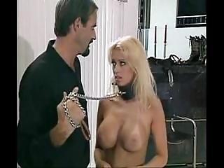 Beautiful Blonde Fucking Bondage