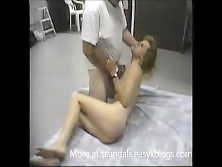 Lucky Woman Forced By Boss