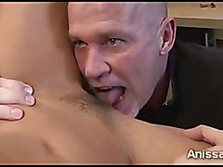 Gorgeous Anissa Kate Surprised By Ssweeted Tongue And Dick