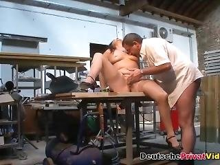 Chubby German Mom Gets Pussy Licked