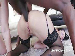 Selvaggia And July Sun Atom Dp Interracial Edition - Intense Fuck