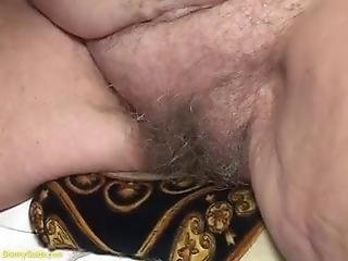 Hairy Granny And Stud