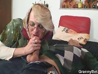 Lonely  Years Old Granny Pleases A Stranger