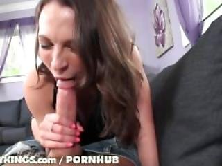 Ass, Babe, Big Tit, Blowjob, Boob, Brunette, Busty, Deepthroat, Dick, Hungarian, Pornstar, Pov, Reality, Sexy, Skinny, Spit, Trimmed