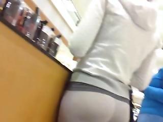 Nice Ass White Yoga Pants