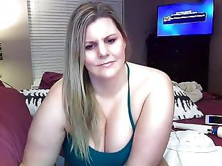 rubia, tetona, masturbación, alta, camara del internet