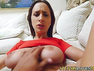 Busty Teen Stepsis Fucked