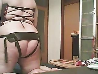 Intense Strapon Experience With Wife