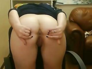 Cute Teen Spreads Her Hot Ass On Webcam - Webcambabes7.com