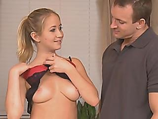 Beautiful Blonde Masseuse Gives Client Soapy Massage And Rides His Dick