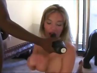 Sexy Slut Wife Takes Three Bbcs