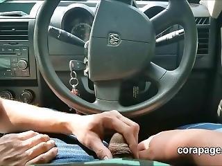 Desperate Mom On Craigslist Giving A Car Blowjob