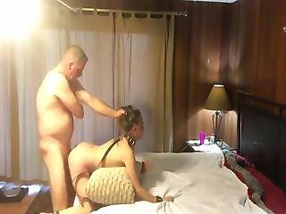 Petite Babe Used Hard By Her New 70yo Owner Of An Apartment