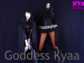 Sadistic Witches Joi Goddess Kyaa Paypig