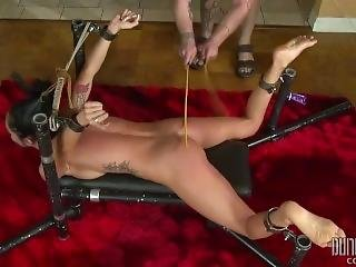 Teen Gets Her Slutty Tight Pussy Some Bdsm Action 4