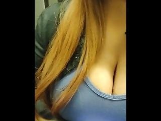 Big Tits Cleavage Close-up