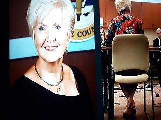 Candid Grandma, Foot Shaking
