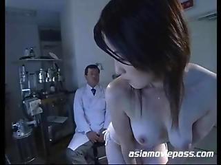 Sexy Asian Clinic Bondage