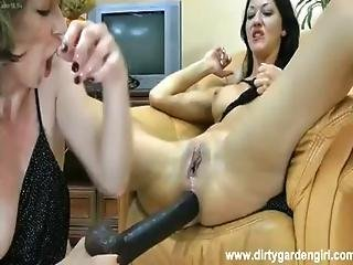 Hotkinkyjo And Dirtygardengirl Anal Prolapse Fisting Suck Ass Prolapse