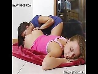 Girl Licks Her Friends Ass
