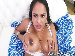 Busty Babe Pov Ass Fucked After Titplay