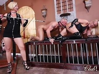 bondage, fetish, gudinna, trekant