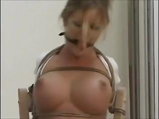 Masked Men Tie Her