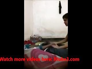Indian Girlfriend Sex Scene Filmed In The College Dorm